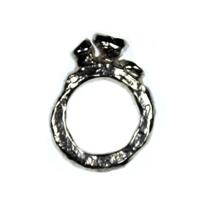 Chunky Abstract Ring