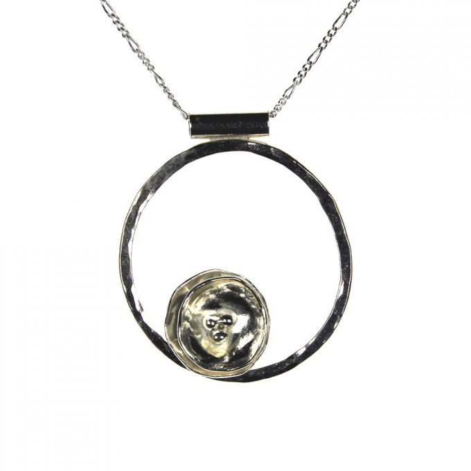 Petal Ring Necklace